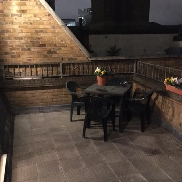 39 large studio flat central londonwith roof terrace 39 room for 10180 old well terrace