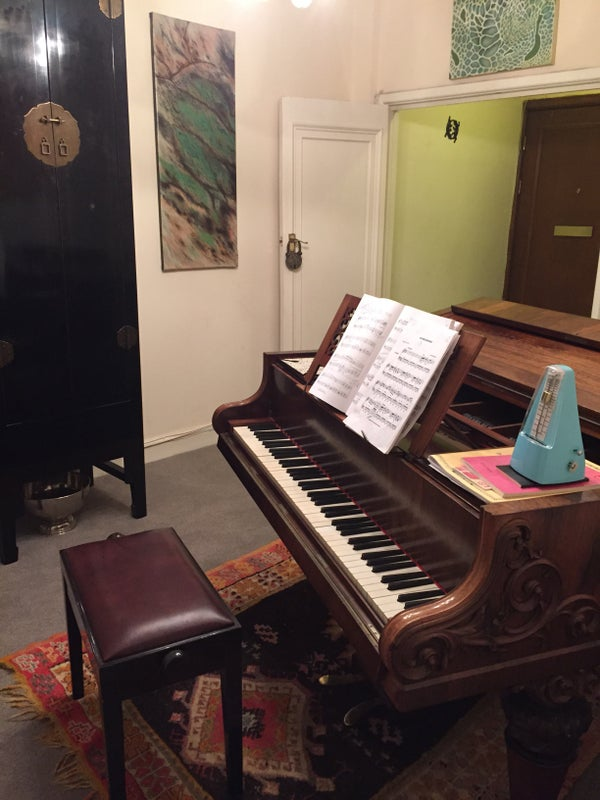 Rent A Room With A Piano London