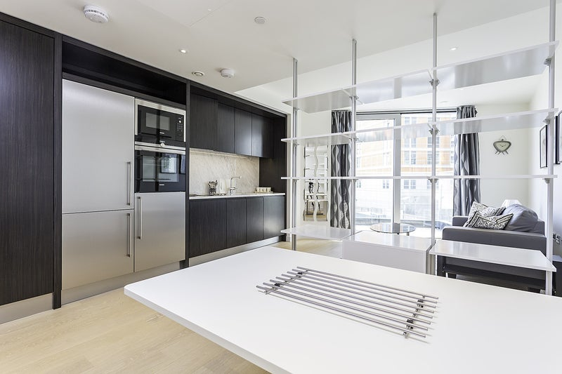 Studio Apartment Separate Sleeping Area a brand new studio apartment - blackwall dlr' room to rent from