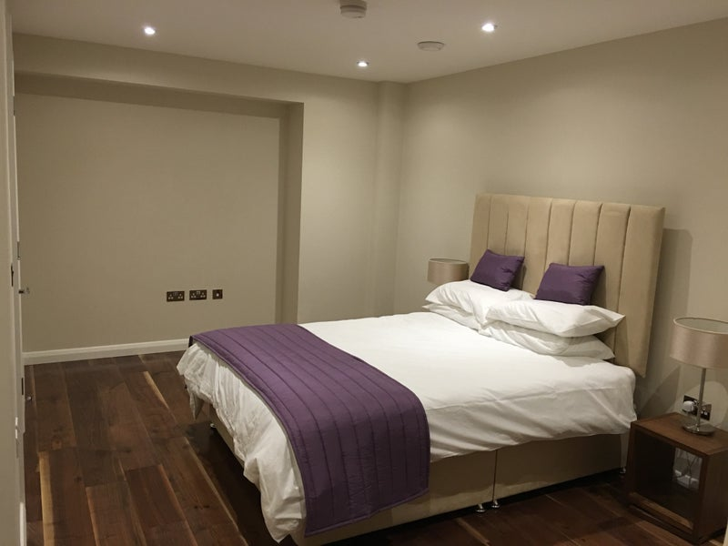 Very Large Bedroom With Double Bed And An En Suite Bathroom In Newly Built 140sq Meter 1 500sq Feet Luxury Flat In Central London Flat Is Split Level