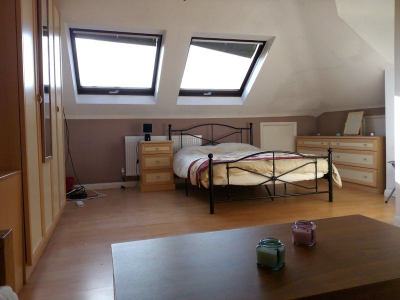 spacious loft room ensuite lounge area room to rent from spareroom