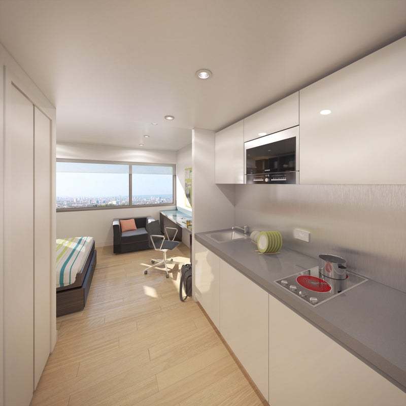Large Studio Apartments: 'Studio Apartment At Urbanest King's Cross' Room To Rent