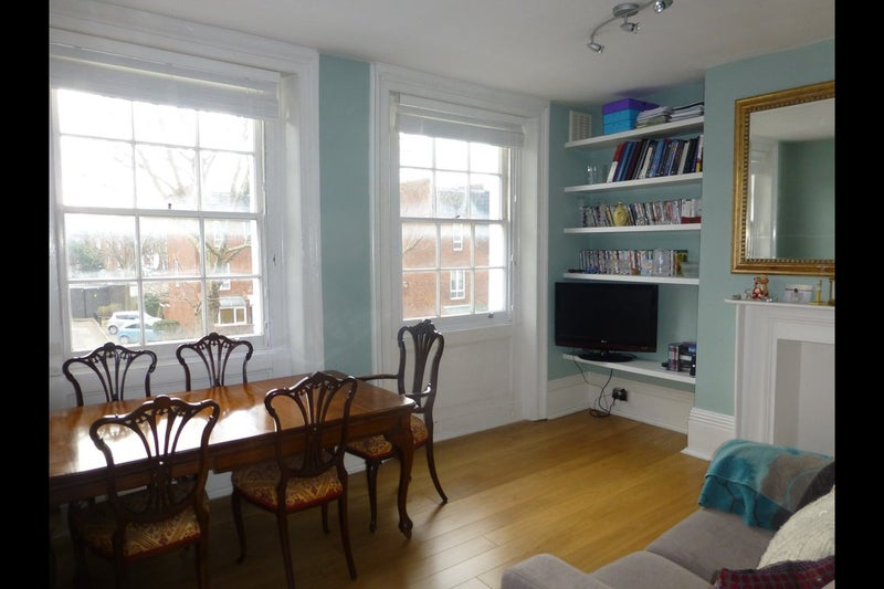 Large Georgian Living And Dining Room Which Paint Colour