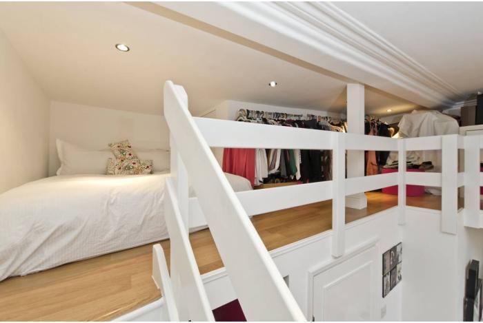 Mezzanine Sleeping Area short let chelsea studio w mezzanine ' room to rent from spareroom