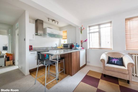 large studio flat in west london room to rent from spareroom