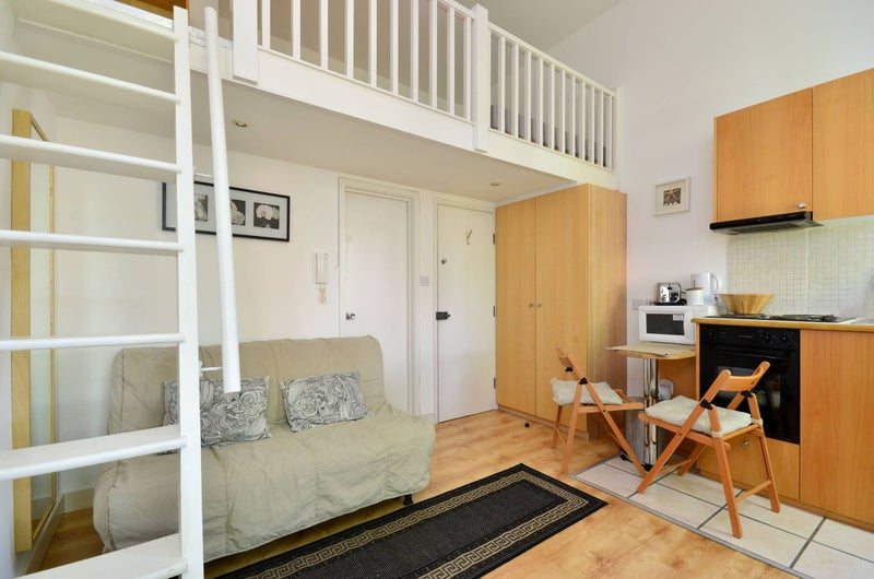 Studio flat with mezzanine \' Room to Rent from SpareRoom