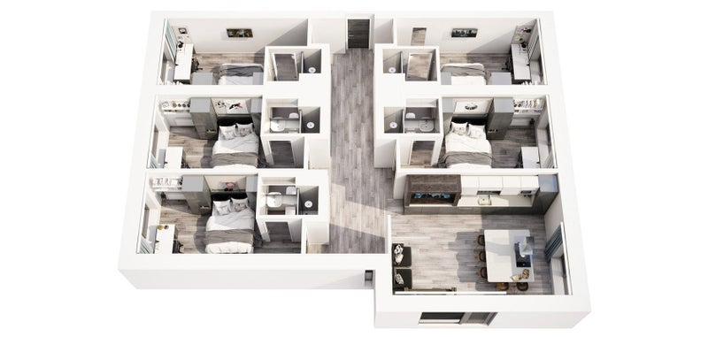 39 vita student circle square 212 39 room to rent from spareroom. Black Bedroom Furniture Sets. Home Design Ideas