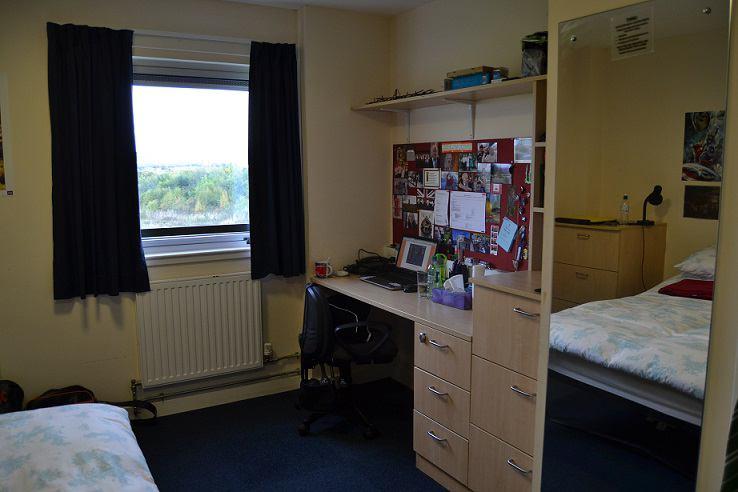 Queen Margaret University Halls Premium Ensuite Room To