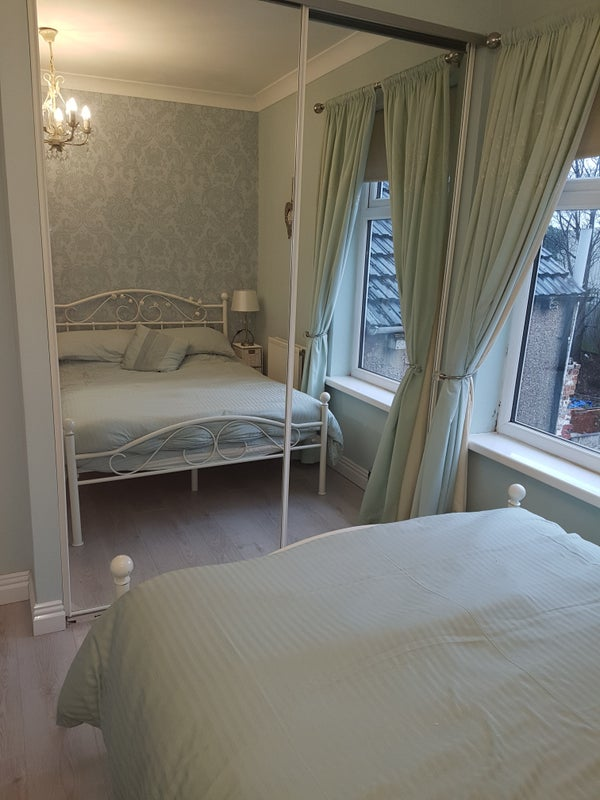 Click to zoom: Bedroom. Small bedroom with a double bed ...