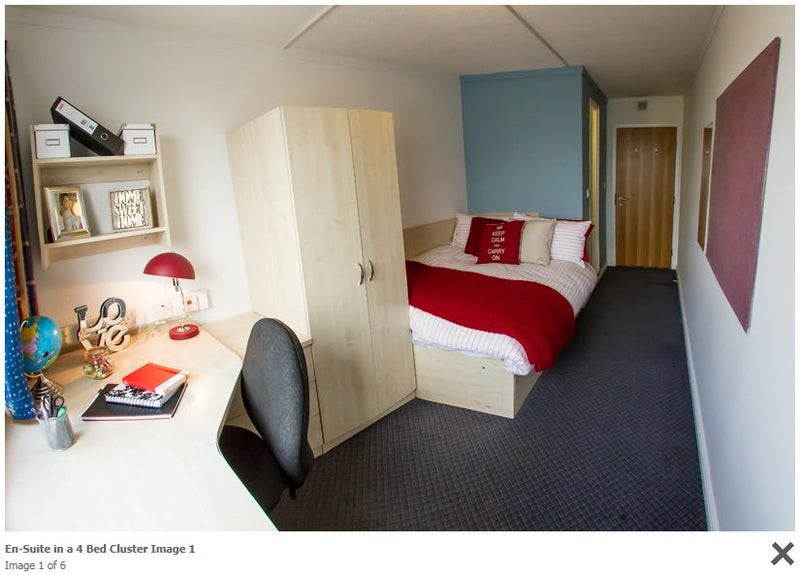 en-suite room in a 4 bed cluster-all inclusive' room to rent from