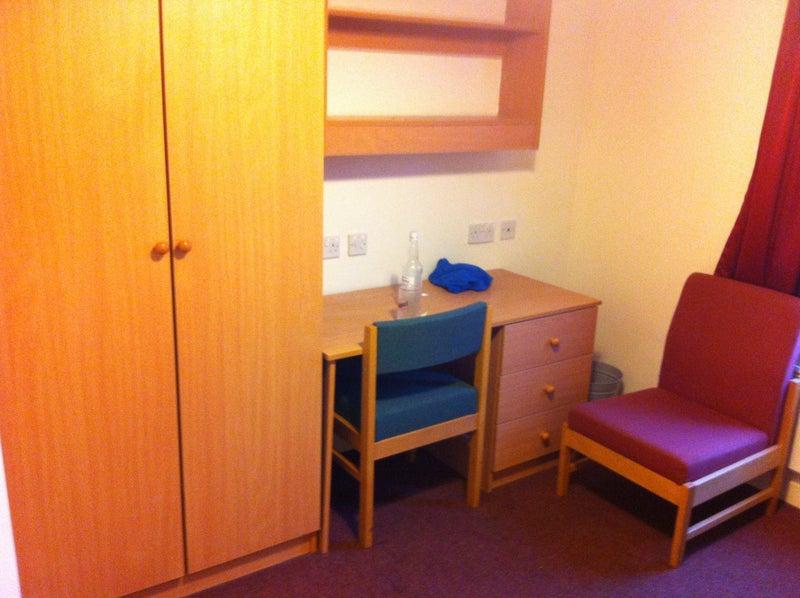 39 student flat bramall court sheffield hallam uni 39 room. Black Bedroom Furniture Sets. Home Design Ideas