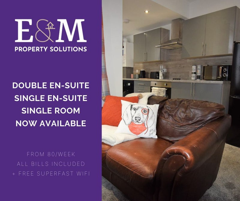 Double En Suite room available - Great location Main Photo