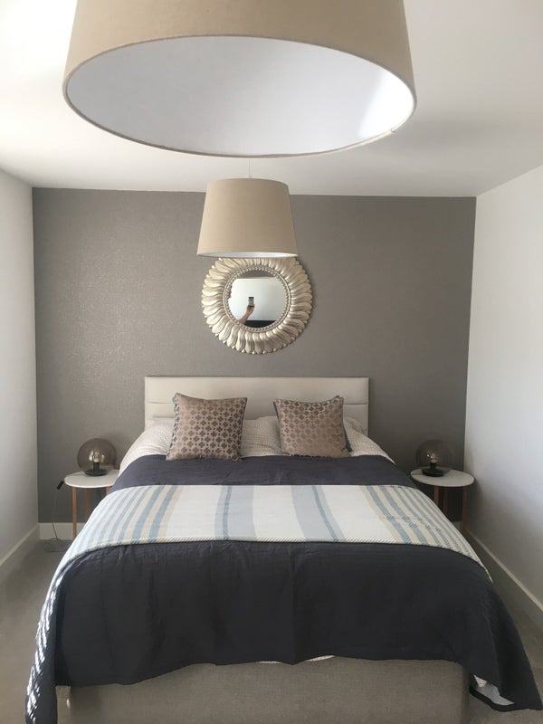 Large bedroom with King size bed in a family home. Main Photo