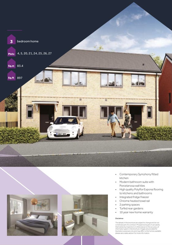 Room to Rent - BRAND NEW 3 Bed Semi-Detached House Main Photo