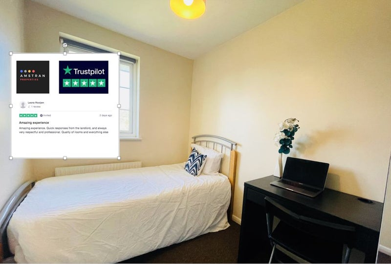 Fabulous room with Parking | £100 Cashback Main Photo