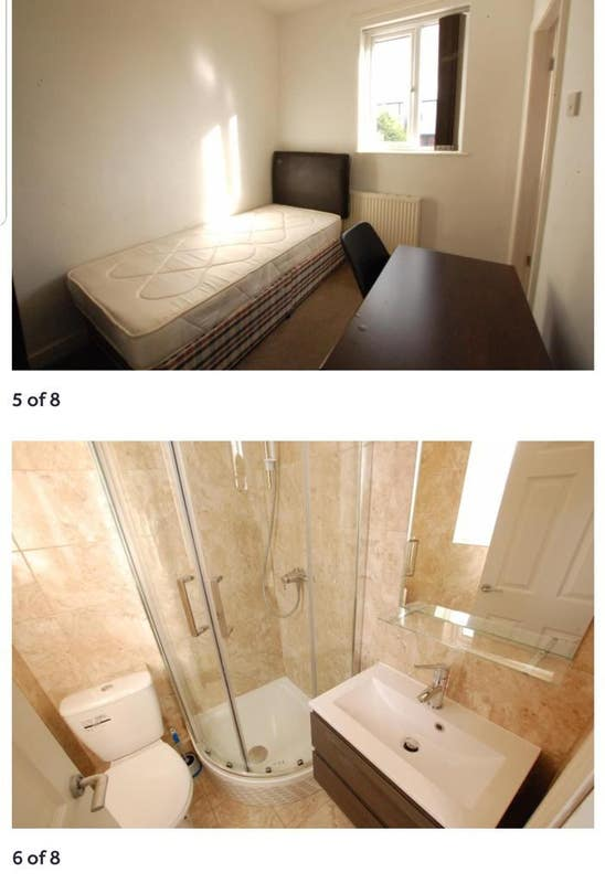 En suite room available in 3 bedroom house 375 pcm Main Photo